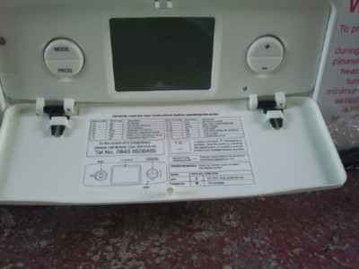 I have a British Gas 330+ and I have an F4/19n error message. I ...