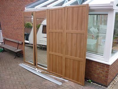 b and q mirrored sliding doors 3